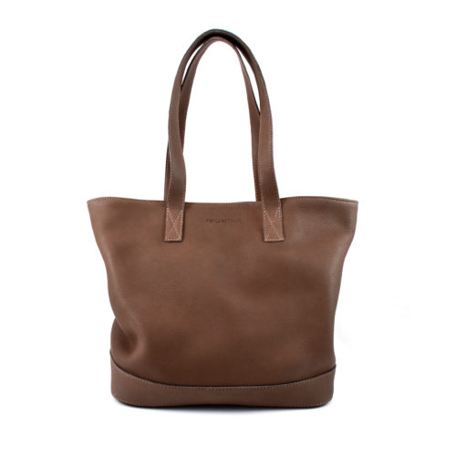 Charly-Sac-Cabas-Cuir-Praline-Fourre-tout